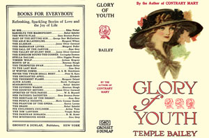 Glory of Youth Facsimile Dust Jacket